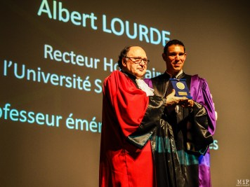 Albert Lourde et Fabrice Lorente