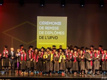 Céremonie de remise des diplomes UPVD - promotion 2017 - Parrain François Molins-240702