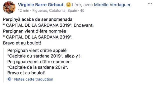 Perpignan - Capitale de la Sardane 2019