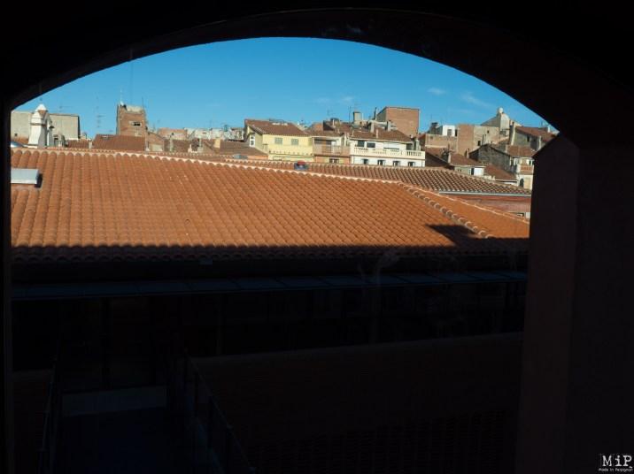 Vue sur le quartier Saint Jacques depuis l'ancien Couvent Saint Sauveur