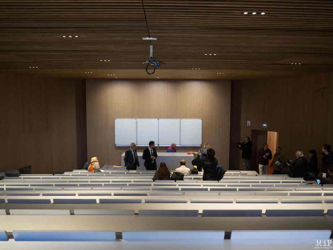 Amphithéâtre de 200 places du bâtiment Font Nova