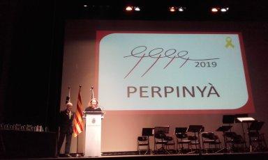 Virginie Barre represente Perpignan Capitale de la Sardane 2019