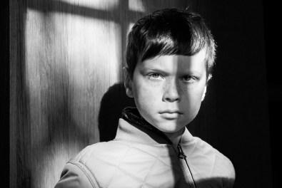 Photographie issue d'une série de Portraits d'enfants d'ALP par les enfants eux-même.