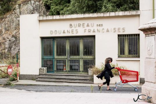 Photographie issue d'un photoreportage sur Les Douanes réalisé au Perthus par Jc Milhet (©2017)