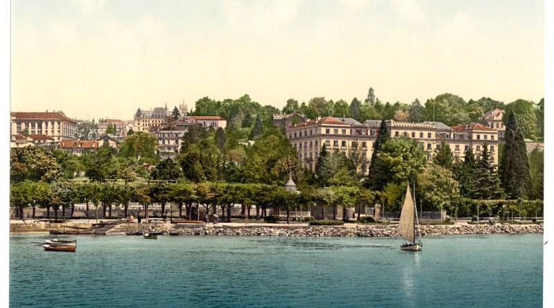 Hélène Legrais troque ses anges catalans contre ceux de l'Hôtel Beau-Rivage à Genève