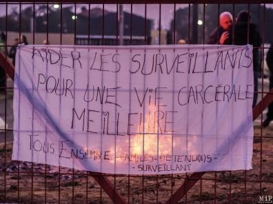 Prison de Perpignan - Blocage - Janvier 2018-1250587