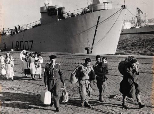 Arrivée à Marseille 1962 © Pierre Domenech