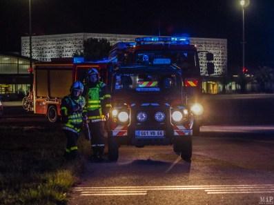Simulation grandeur nature d'un crash d'avion à Perpignan-3290374