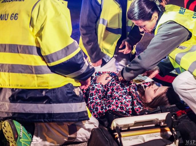 Simulation grandeur nature d'un crash d'avion à Perpignan-3290771