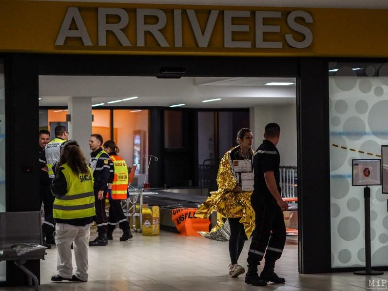 Simulation grandeur nature d'un crash d'avion à Perpignan-3291485