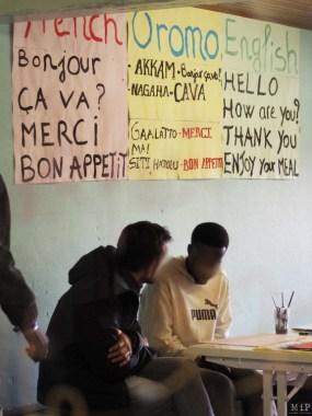 Mineurs de Calais arrivés à Bolquère en 2016