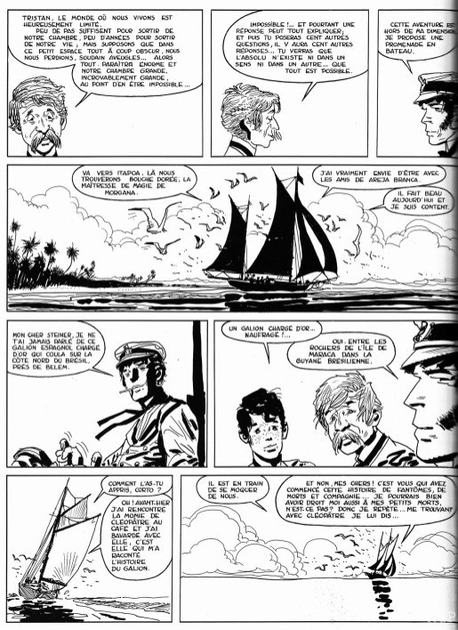 Bande dessinée - Corto Maltese