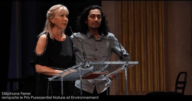 Stéphane Ferrer Yulianti remporte le prix Puressentielle Nature et Environnement