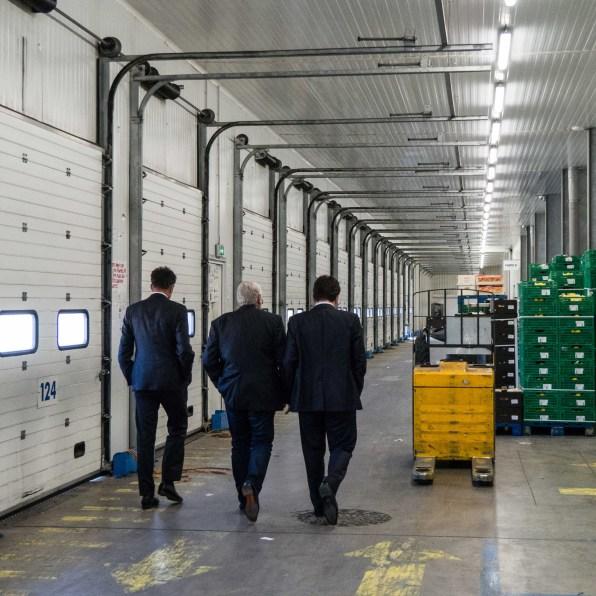 UPE - Geoffroy Roux de Bézieux et Alexis Mélidonis visitent d'entreprises Guash et Guanter