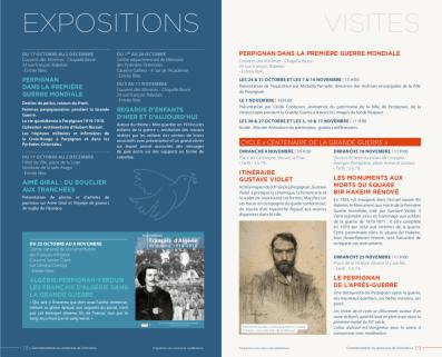 Expositions et Visites Perpignan dans le cadre du centenaire de la Grande Guerre