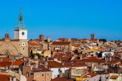 Les toits de Perpignan