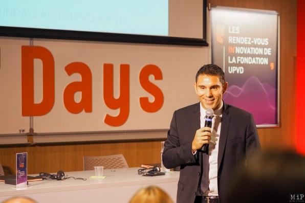 Fabrice Lorente - Président de l'UPVD