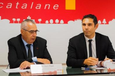 Jean-Marc Pujol et Fabrice Lorente