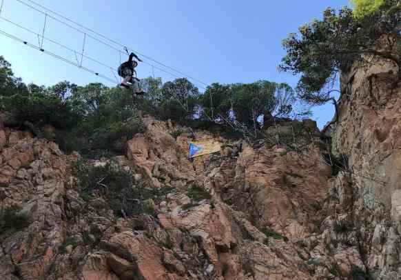 Via ferrata Saint Feliu de Guixols - Blog KikiMagtravel 4