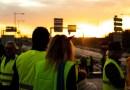 Gilets Jaunes acte 4 – Lever de soleil sur une nouvelle journée de mobilisation