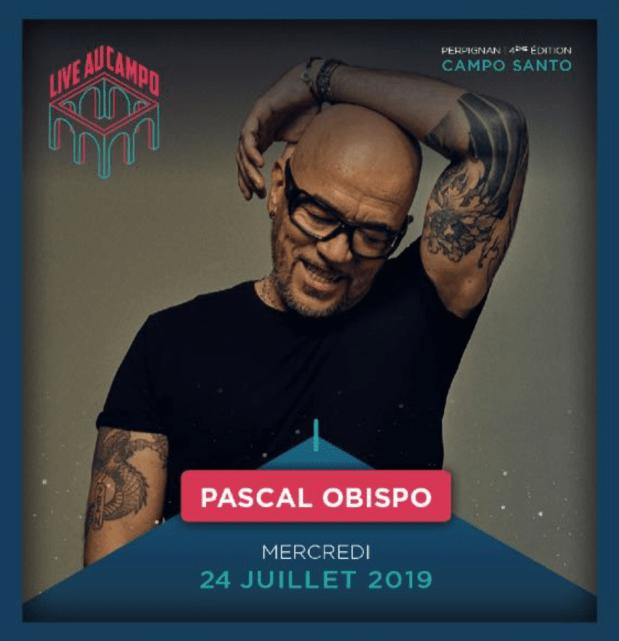 Pascal Obispo - Live au Campo 2019