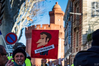 Acte 9 Gilets Jaunes Perpignan Janvier 2019