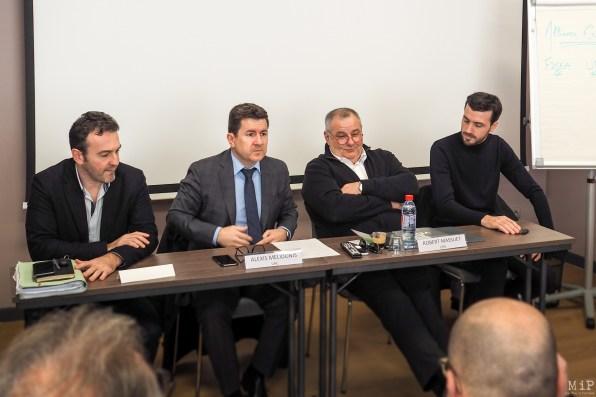 Alliance Économique des Pyrénées-Orientales - Walter Soubirant - Alexis Melidonis - Robert Massuet - Damien Ribeiro