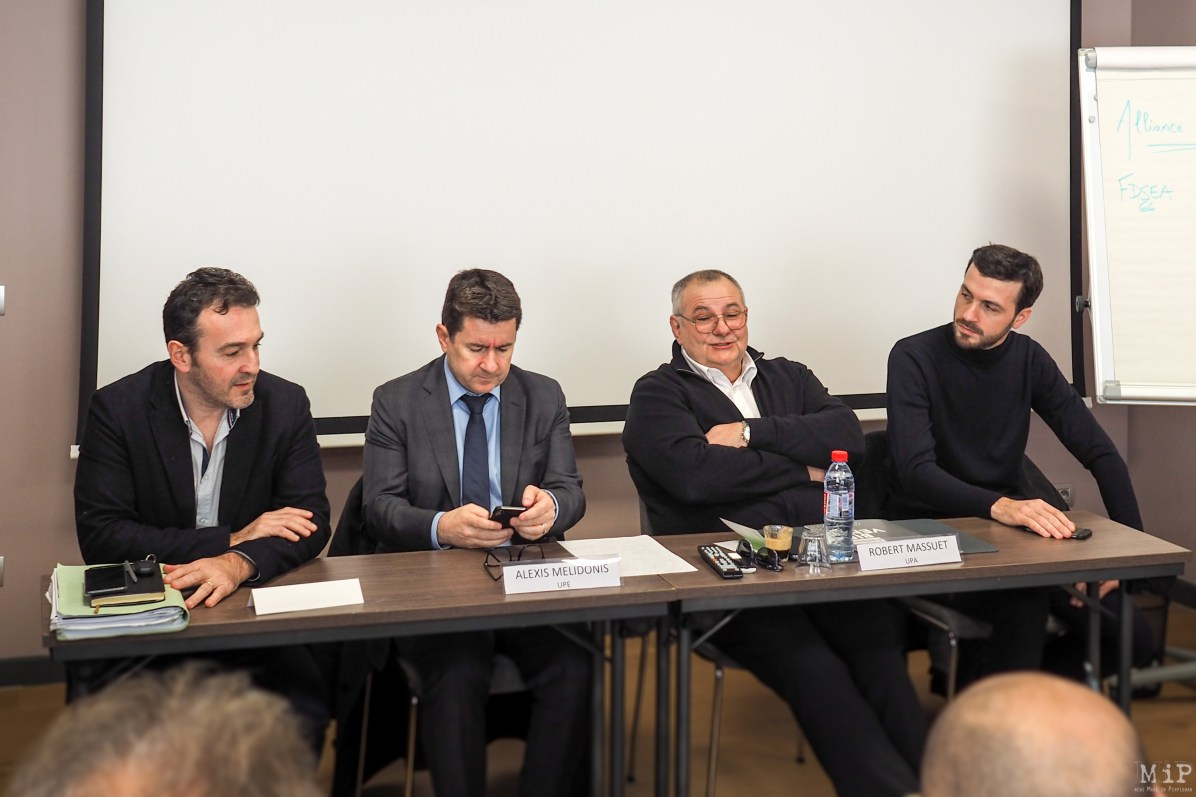 Alliance Economique des Pyrénées-Orientales - Walter Soubirant - Alexis Melidonis - Robert Massuet - Damien Ribeiro