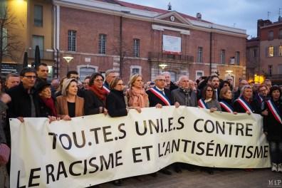 Contre le racisme et l'antisemitisme à Perpignan-7