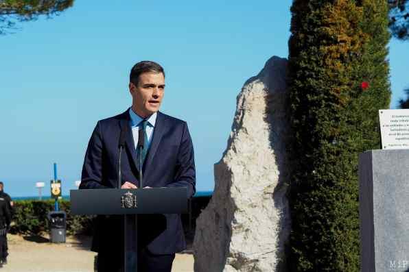 Le Président du gouvernement Espagnol rend hommage aux exilés de La Retirada - Février 2019 - Collioure et Argeles-sur-Mer-37