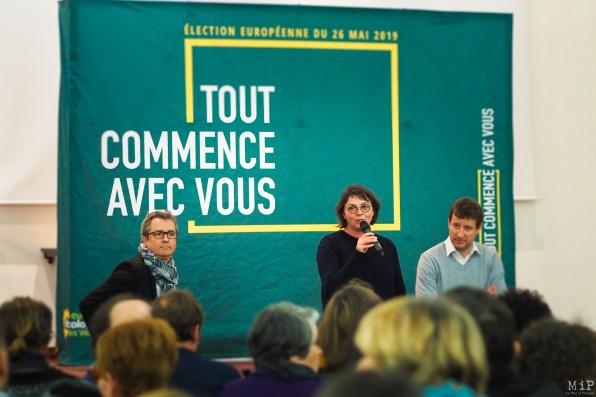 Yannick Jadot - Tête de liste aux européénes à Perpignan à l'invitation d'Agnés Langevine-3