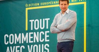Européennes à Perpignan – Yannick Jadot défend le plan vert face au scénario noir duchaos climatique