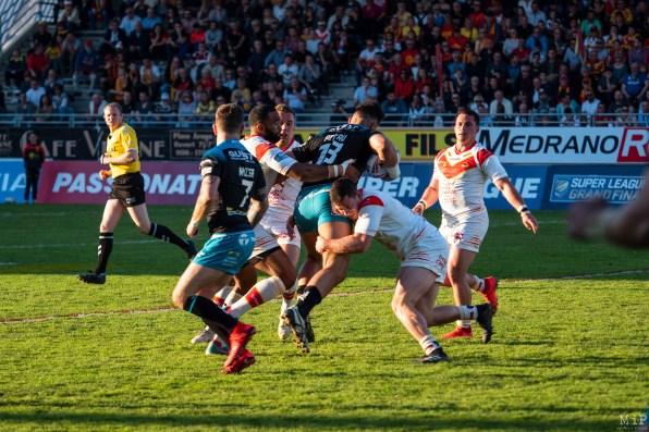 Dragons catalans Perpignan vs Leeds Rhinos SuperLeague Mars 2019