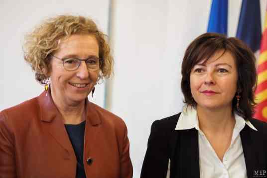 Muriel Penicaud et Carole Delga signent le Pacte régional d'investissement dans les competences - Ecole de la 2eme chance-2