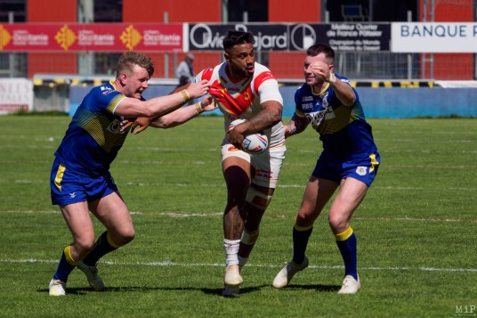Kenny Edwards - Dragons Catalans vs Doncaster Challenge Cup Round 6 Perpignan Mai 2019