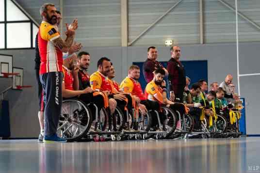 Dragons Handi Rugby XIII Perpignan Coupe de France 2019 vs Montauban Avril