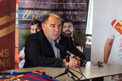 Bernard Guasch président des Dragons Catalans