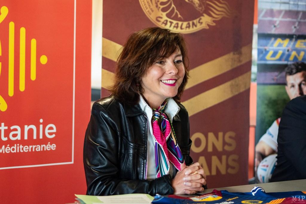 Carole Delga - Présidente de la région Occitanie-Pyrénées-Méditerranée