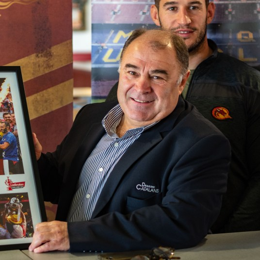 Guasch Delga Dragons catalans partenariat Camp Nou avril 2019