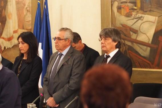 Jean-Marc Pujol et Pierre Parrat - Conseil Municipal Décembre 2018