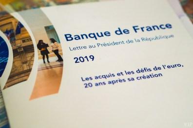 Lettre du gouverneur de la BdF au Président de la République