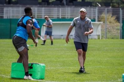 Gérald Bastide - USAP Saison 2019-20 ProD2 Reprise Entraînement Sport Rugby XV Parc des sports Perpignan Juin 2019 Made In Perpignan