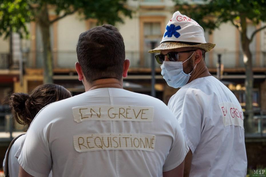 Rétrospective actualité Pyrénées-Orientales 2019 - Urgences en grève