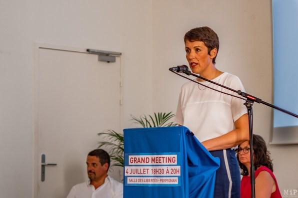 Clotilde Ripoull - 1er meeting pour les elections municipales de 2020-7