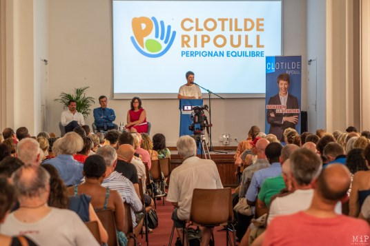 Clotilde Ripoull - 1er meeting pour les elections municipales de 2020-9