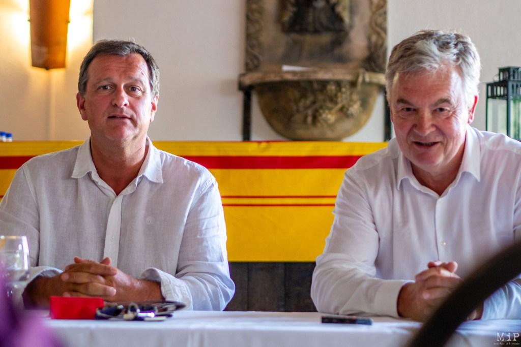 Louis Aliot et Jean-Paul Garraud à Rivesaltes Juillet 2019-2