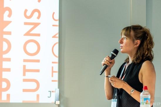 Nina Fasciaux ambassadrice Europe de Solutions Journalism Network - Festival de l'Information Locales