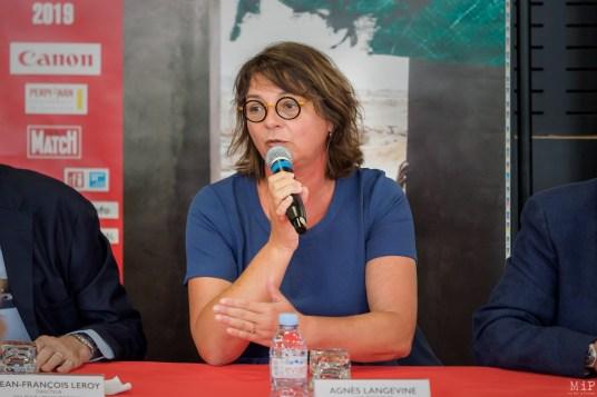 Agnès Langevine - Candidate à la mairie de Perpignan