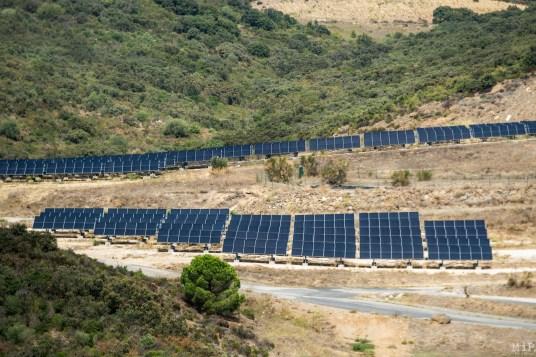 Calce Col de la Dona centrale solaire Engie Suez éoliennes Ecoparc catalan