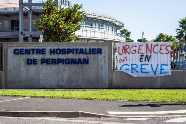 Centre Hospitalier de Perpignan Urgences Hôpital grève 5 décembre